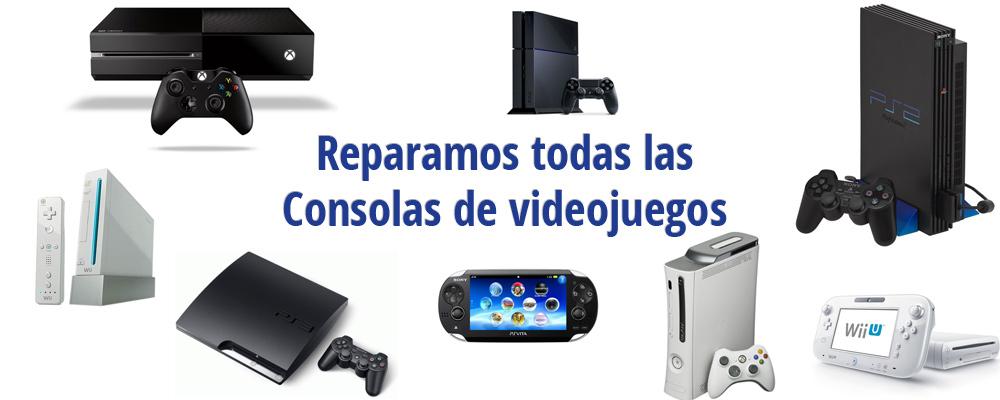 Reparacion Consolas de videojuegos Getafe Electronica Baugar 1