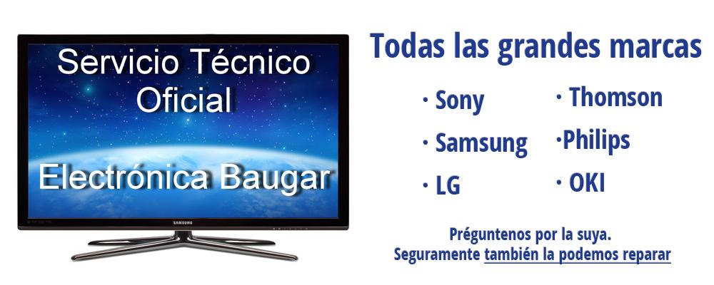 Reparacion televisores Getafe Electronica Baugar 21